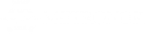 Metronor White Logo