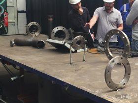 metronor shipyard piping flanges
