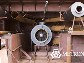 metronor shipyard pipes quality control