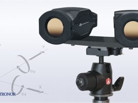 Metronor SOLO Twin for close camera placement in accuracy measurement